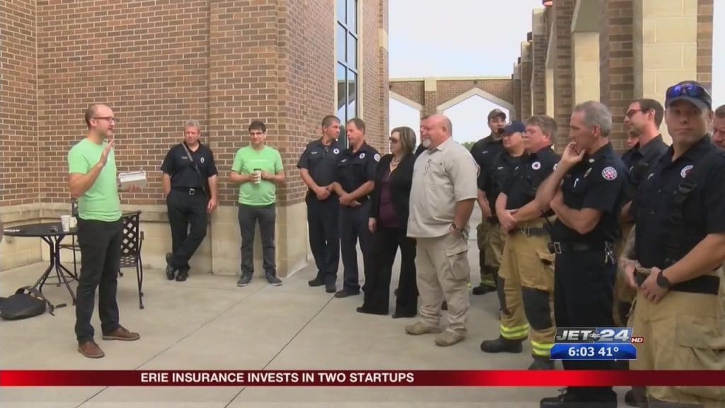 erie insurance invests in two startups